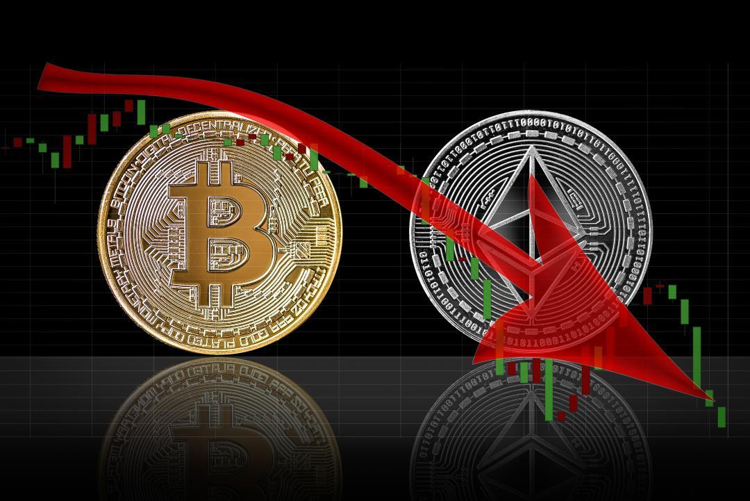 Oggi un altro calo per il mercato crypto