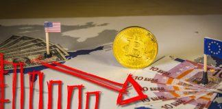 mercato crypto rosso
