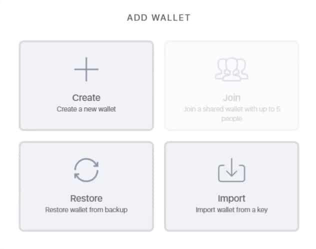 creazione, restore e import del wallet Daedalus di Cardano (ADA)