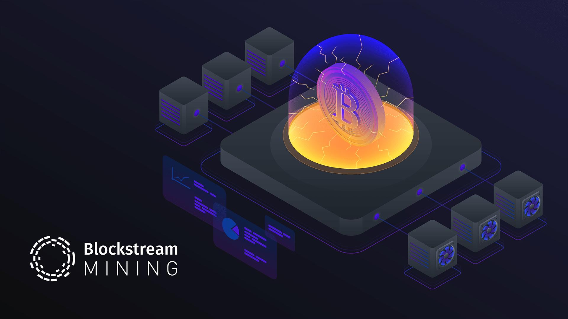 Blockstream annuncia la propria mining pool