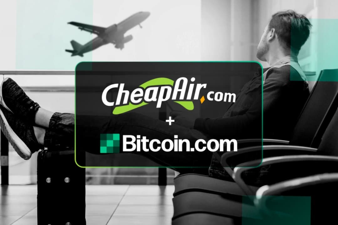 Cheapair.com in partnership con Bitcoin Cash