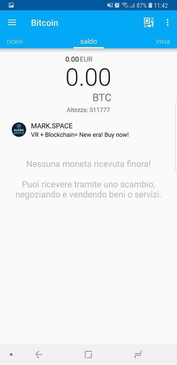 homepage wallet android