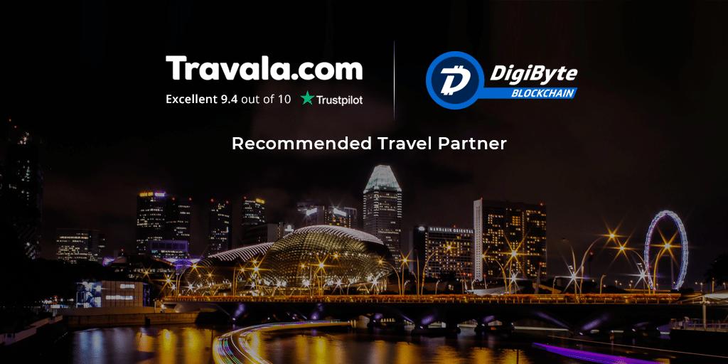 DigiByte annuncia una nuova partnership con Travala