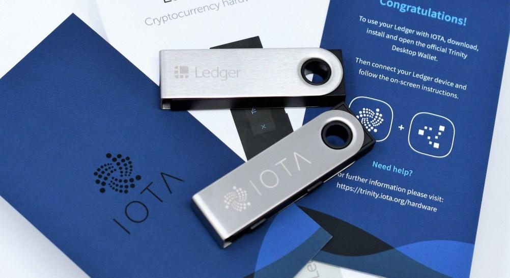 Come usare IOTA Trinity con l'hardware wallet Ledger Nano