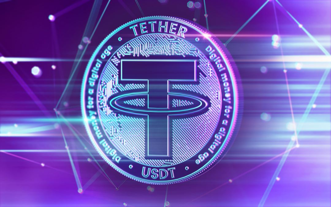 I volumi della stablecoin Tether (USDT) superano bitcoin