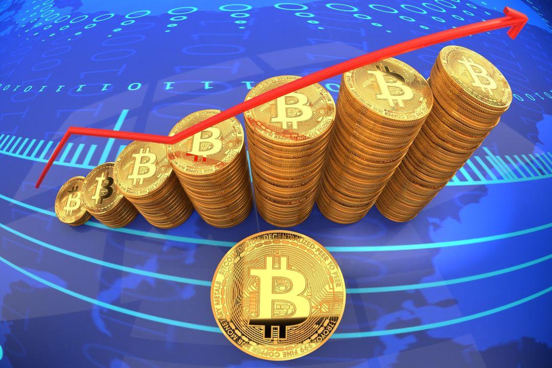 Bitcoin: il prezzo di BTC è in salita