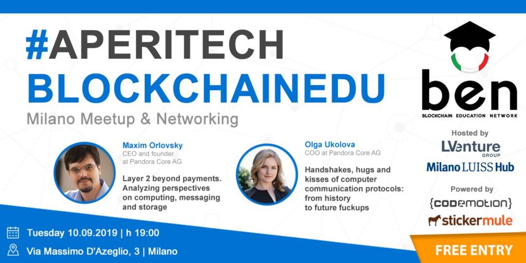 BlockchainEdu: a Milano un nuovo meetup Bitcoin