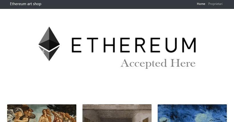 -ethereum dapp back end