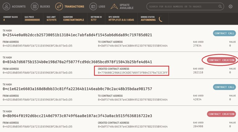 ethereum dapp smart contract guida 3