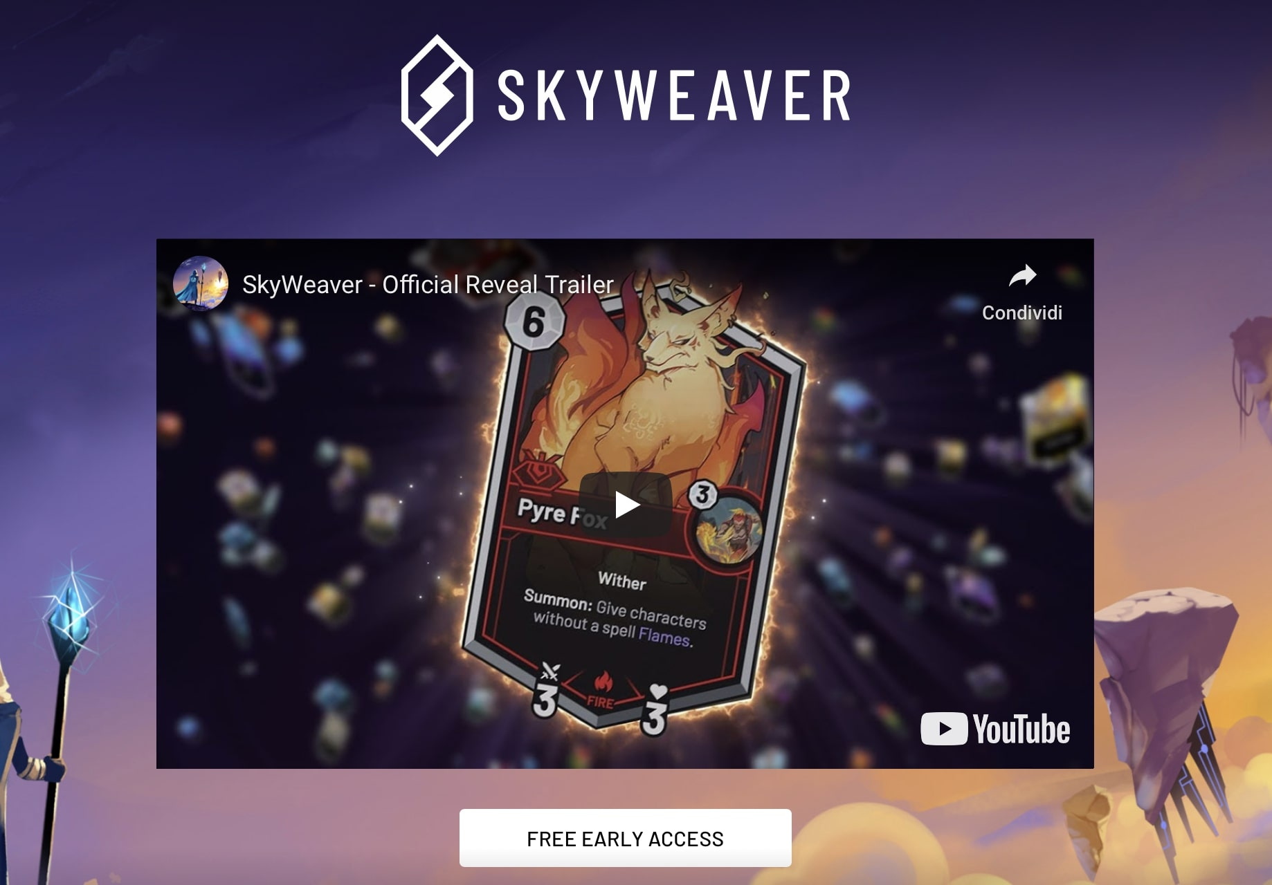 Blockchain gaming: il co-founder di Reddit trasmetterà SkyWeaver