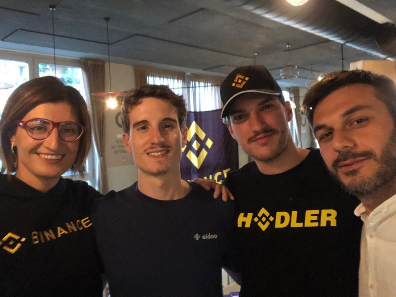 Sold out il meetup di Binance e Eidoo a Milano