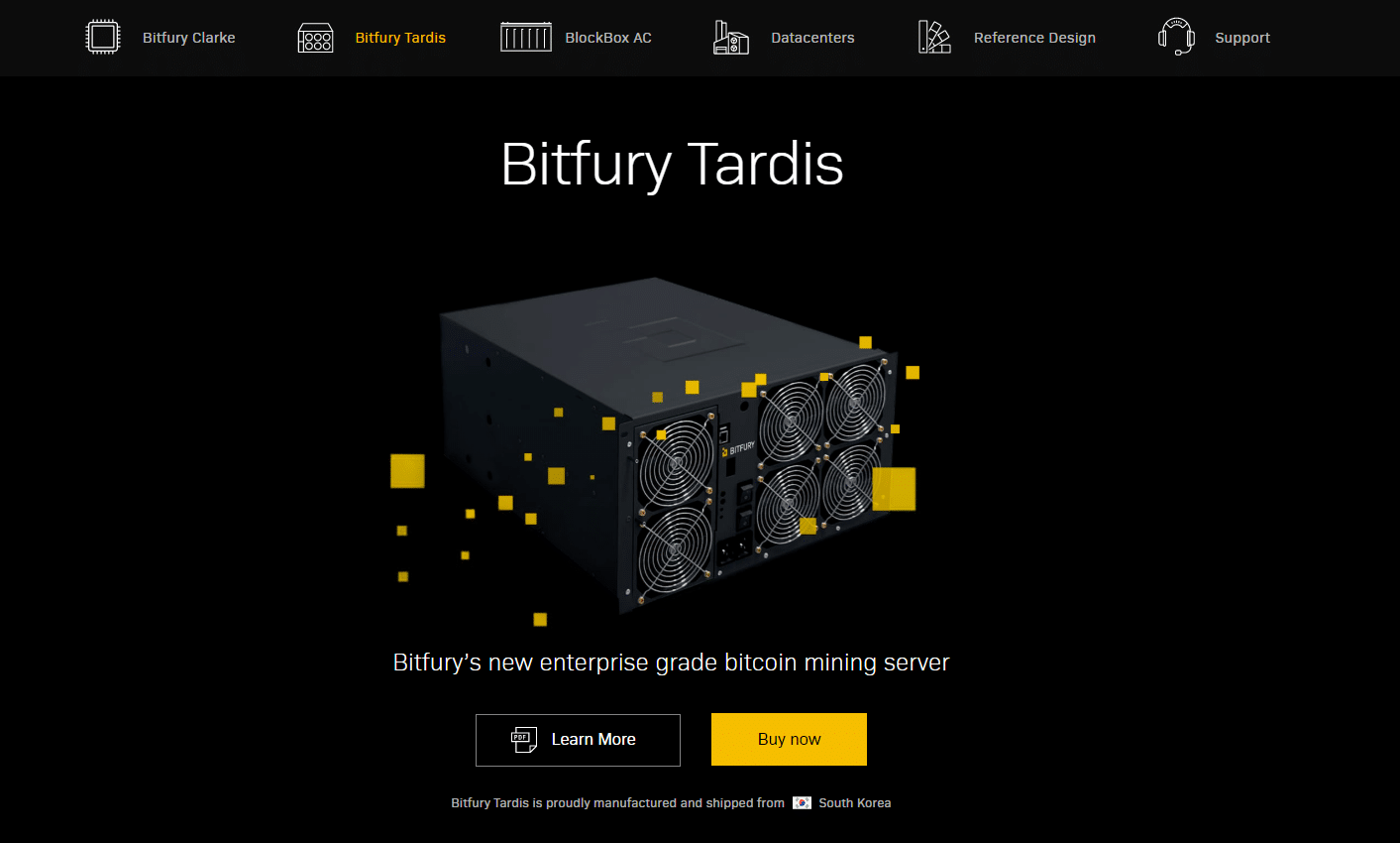 Bitfury Tardis: in vendita l'ASIC Bitcoin da 80 TH/s