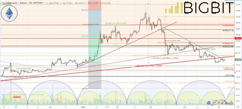 price bitcoin rises