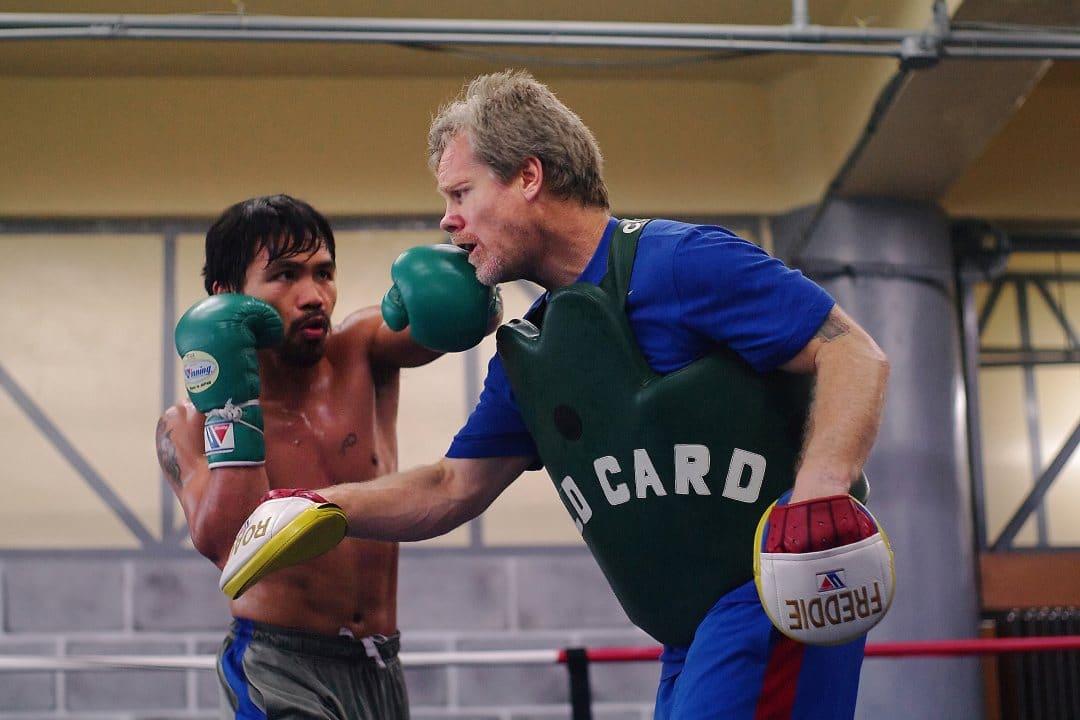 Il pugile Manny Pacquiao lancia il suo token