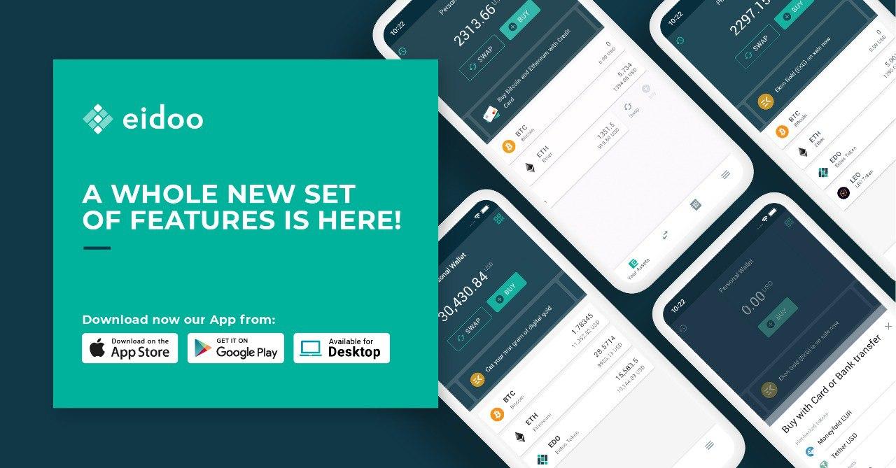 Eidoo: come funziona l'exchange ibrido del wallet per criptovalute