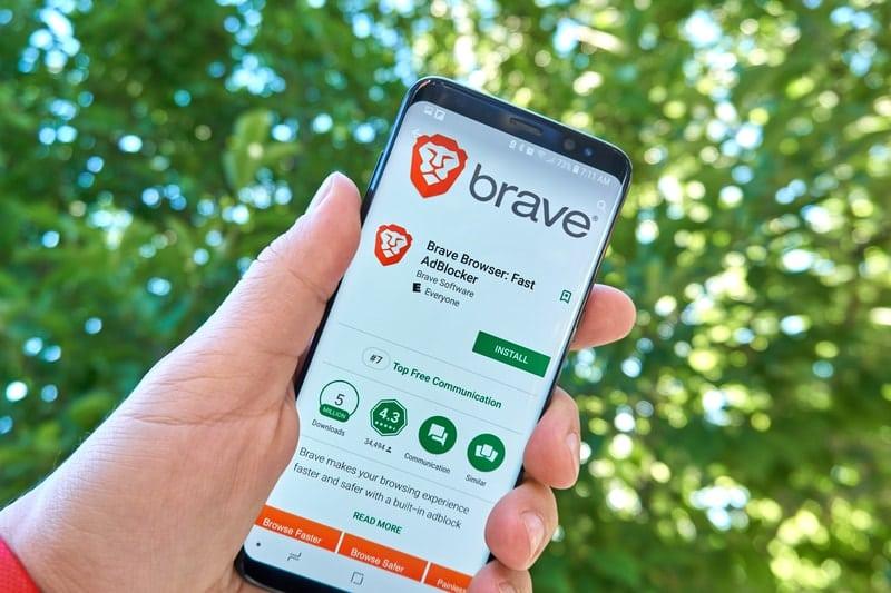 Giappone: il browser Brave nella top 10 delle app