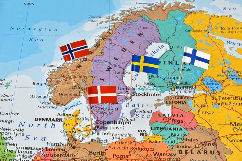Le crypto nei Paesi nordici: a che punto è ogni nazione?