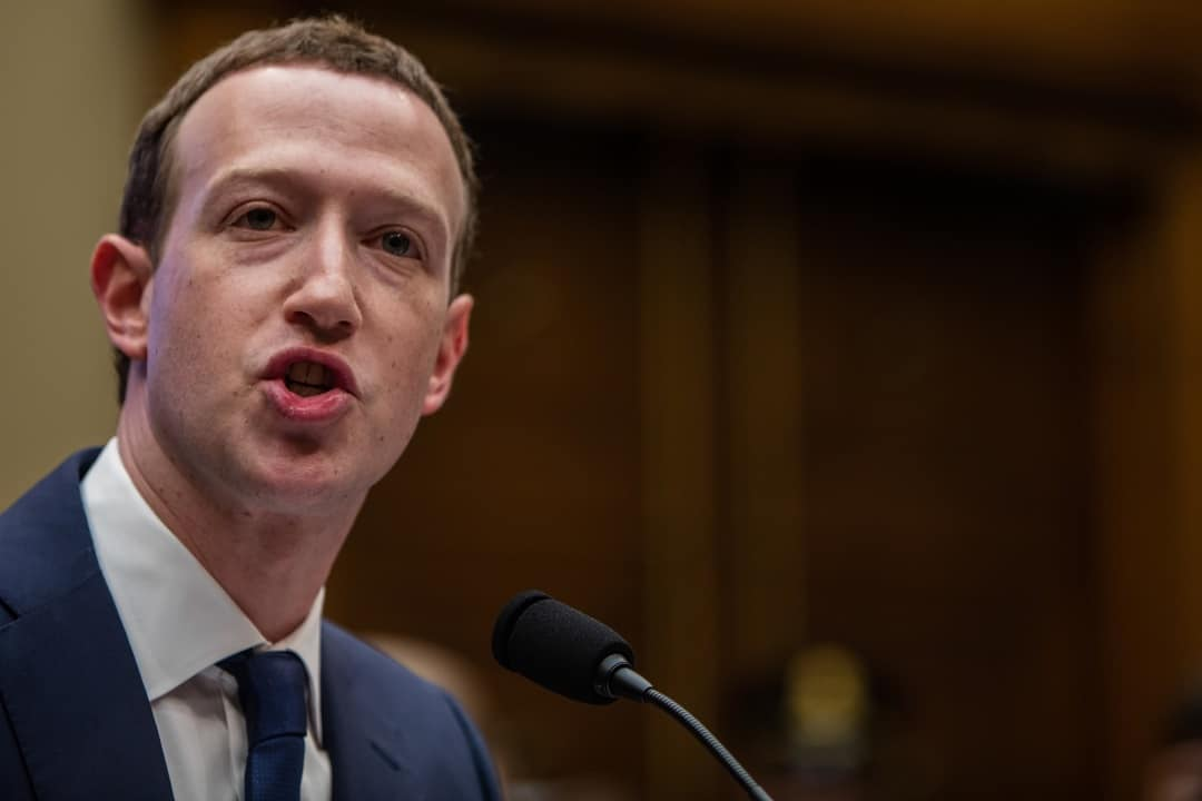 libra mark zuckerberg