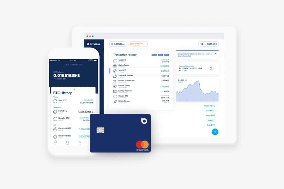 Bitwala, la prima piattaforma all-in-one per Bitcoin e Euro