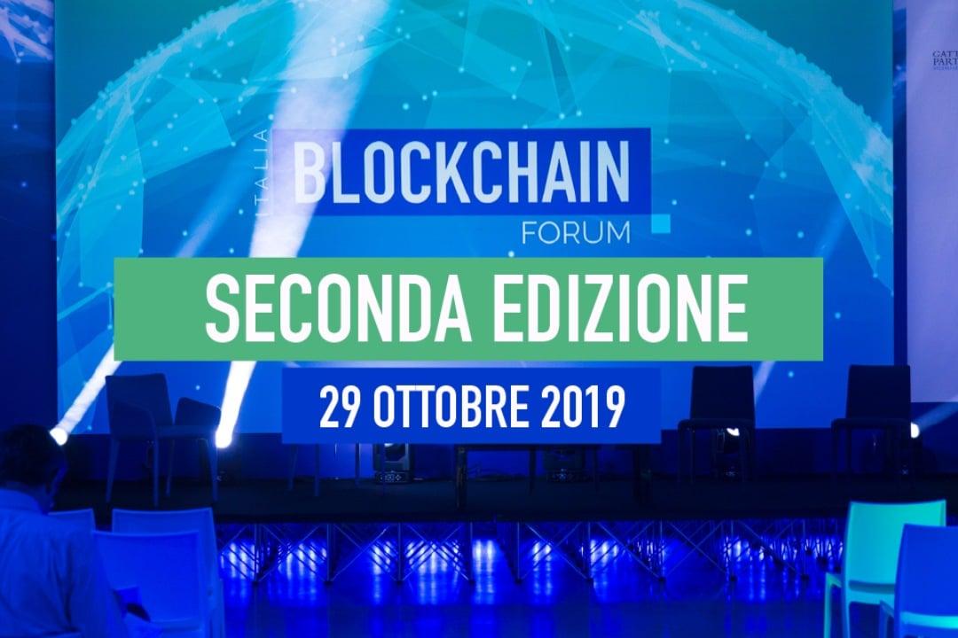 Blockchain Forum Italia 2019, al via la seconda edizione