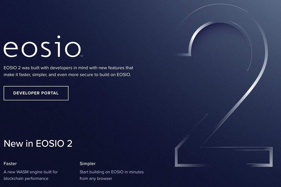 EOSIO 2: arrivano EOS VM ed EOSIO Quickstart Web IDE