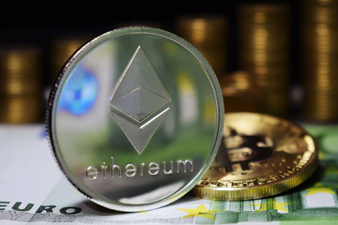 Ethereum posseduti dai top exchnage