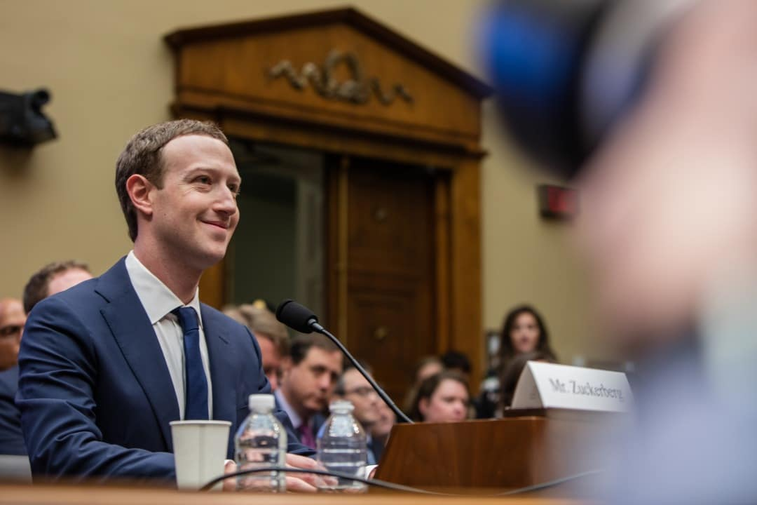 Zuckerberg congresso USA