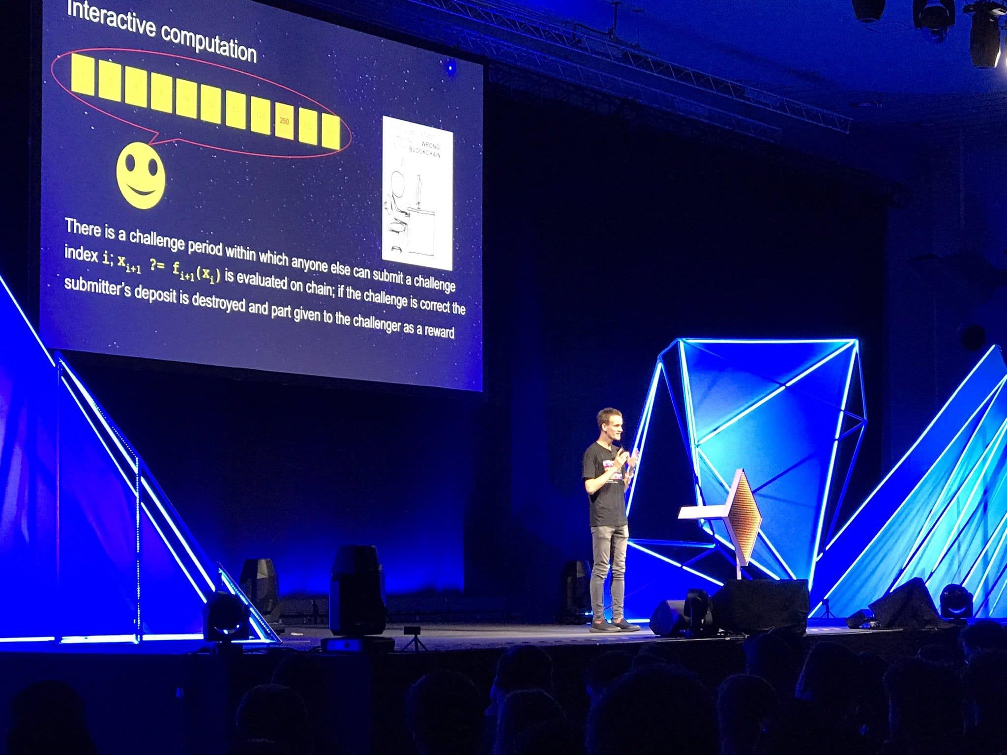 Buterin interviene alla Devcon e parla del PoS su Ethereum