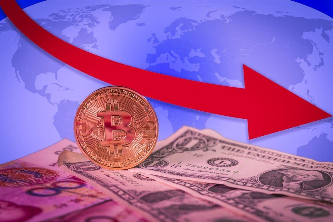 Mercato crypto di nuovo giù, crollano i volumi