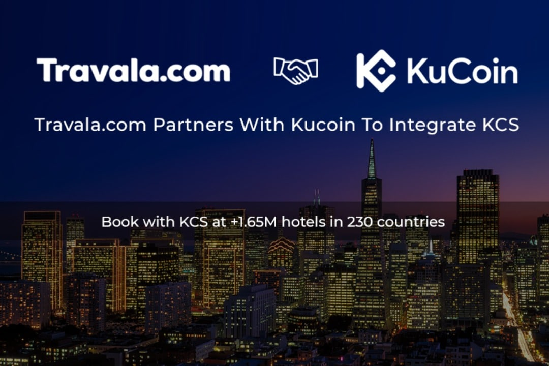 Travala e KuCoin in partnership
