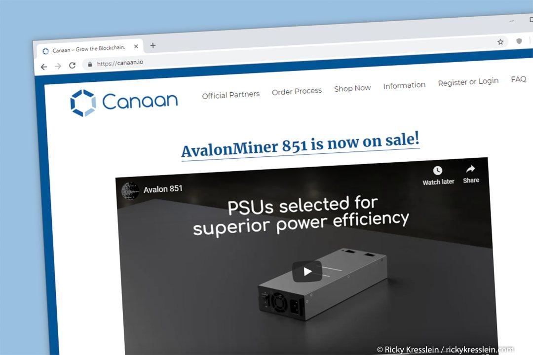 Confermata la data della IPO di Canaan