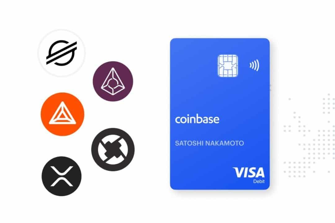 Coinbase Card aggiunge nuove crypto
