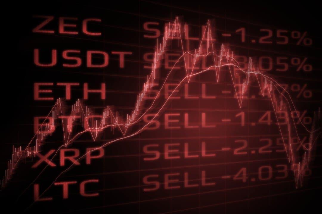 Mercato crypto in rosso, si salva solo la DeFI
