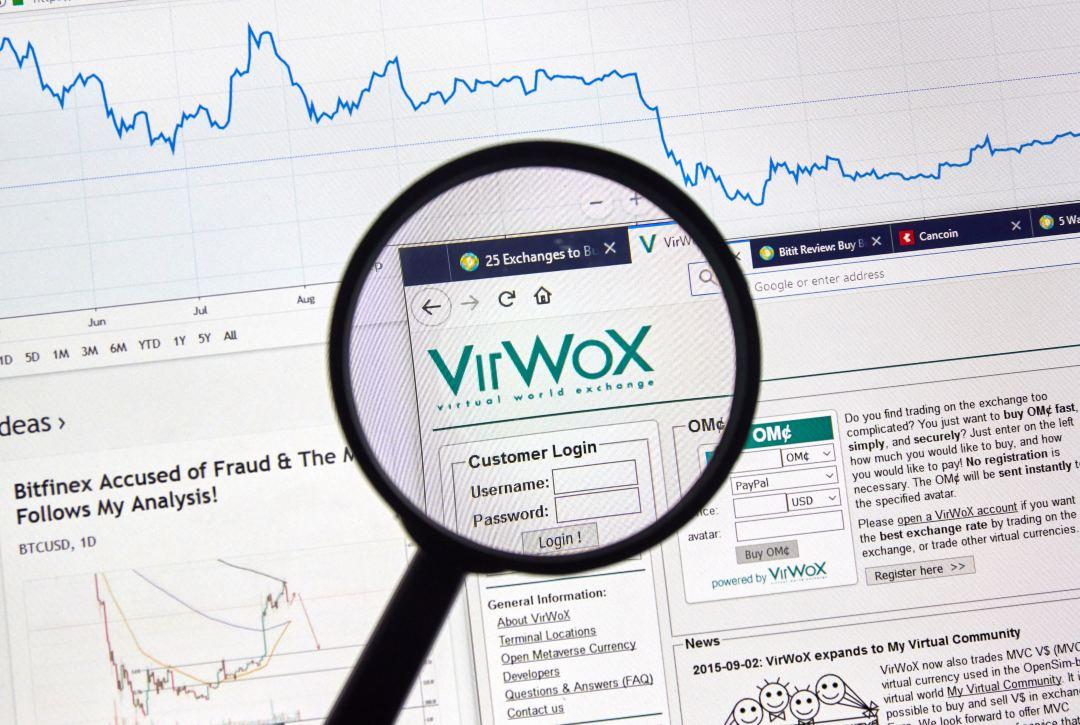 Virwox: exchange decennale chiude i battenti