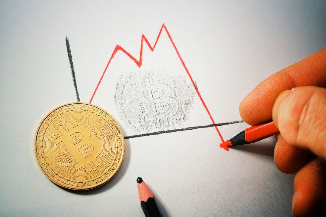 Perché bitcoin sta scendendo?