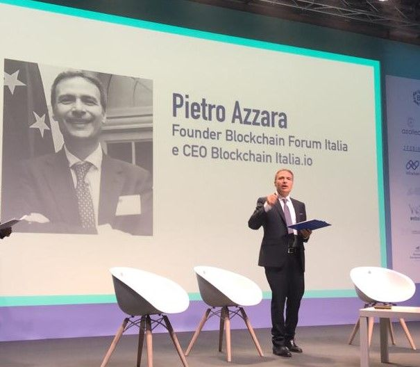 Pietro Azzara CEO of Blockchain Italia