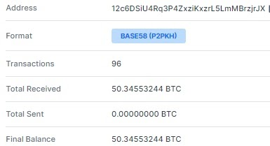 indirizzo bitcoin