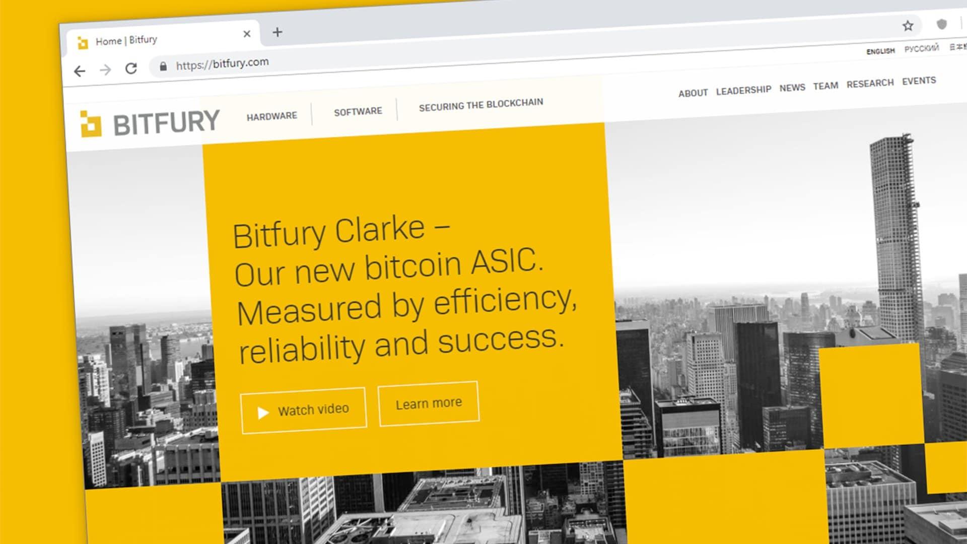 Bitfury lancia la prima blockchain enterprise protetta da bitcoin