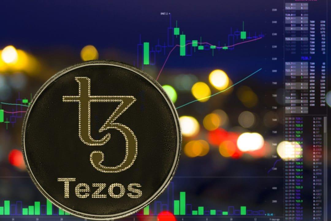 Tezos, sale il prezzo e aumenta il market cap: è decima