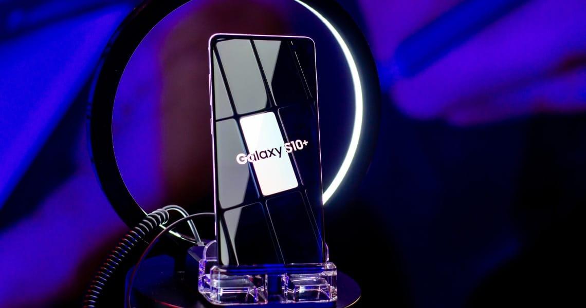 Samsung Dapp Tron