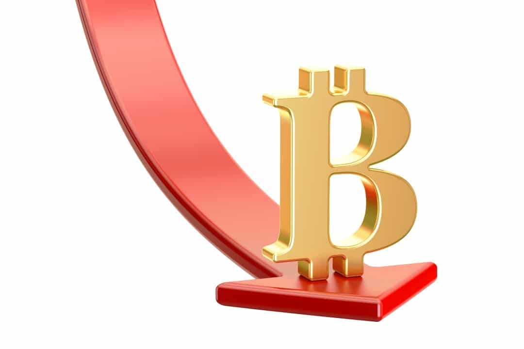 Scende di nuovo il prezzo di Bitcoin