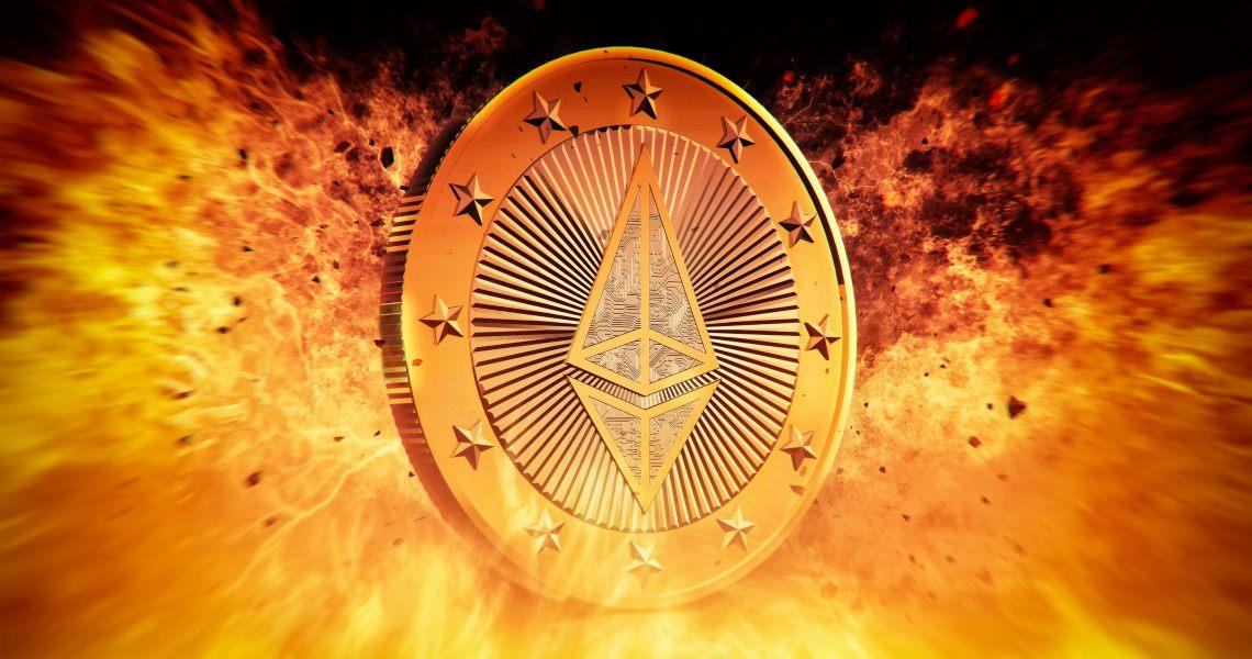 La top 10 dei token ETH e non negli indirizzi di burning