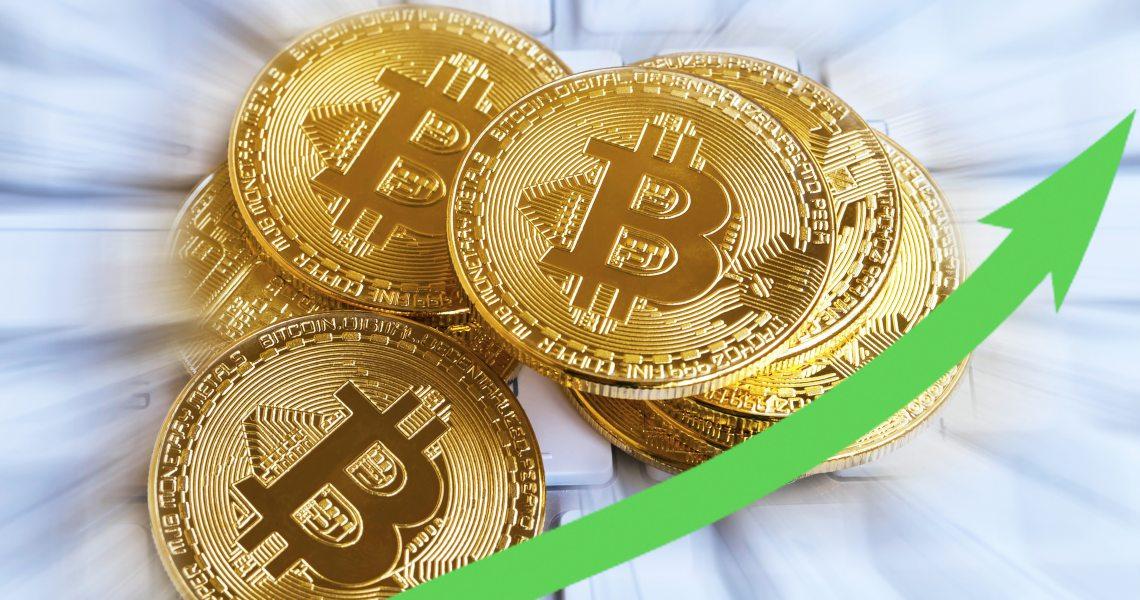 Bitcoin in rialzo: testa gli 8.800 $