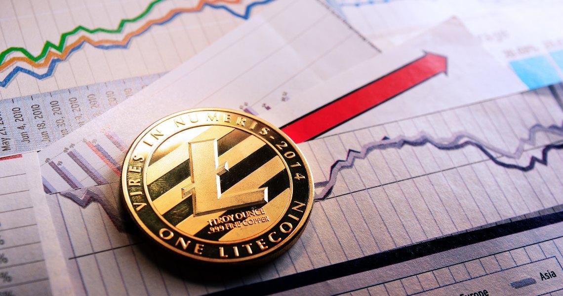Scatto di Litecoin (LTC), il prezzo sale del 10%