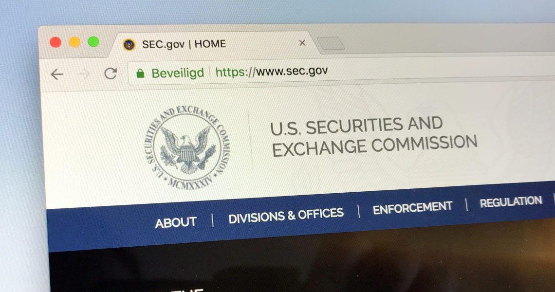SEC: le criptovalute nelle priorità per il 2020