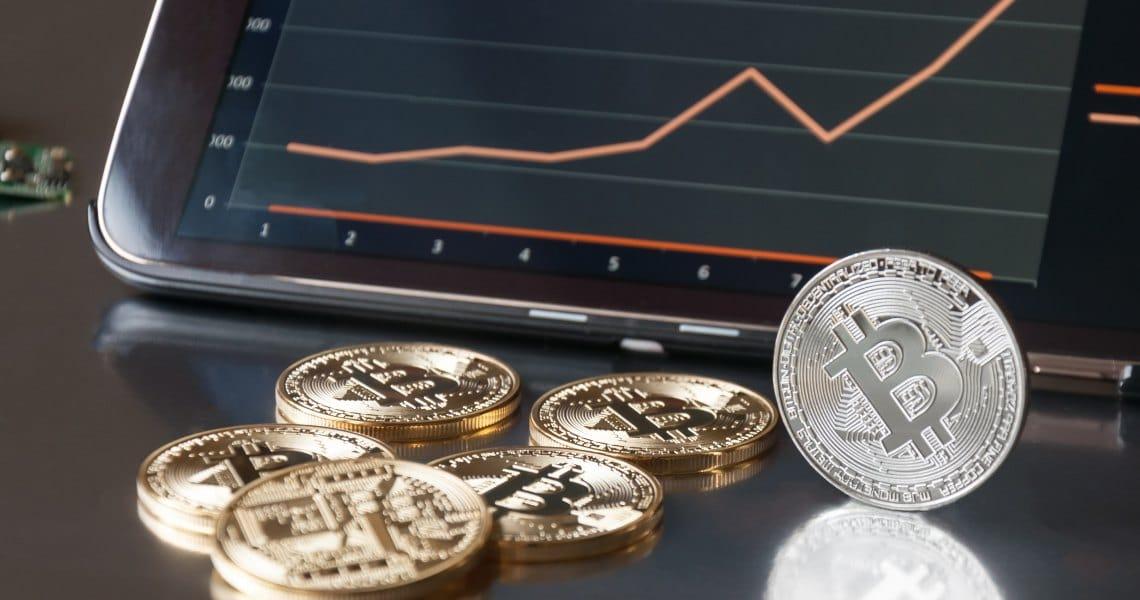 Balzo in alto di prezzi e volumi per il mercato crypto
