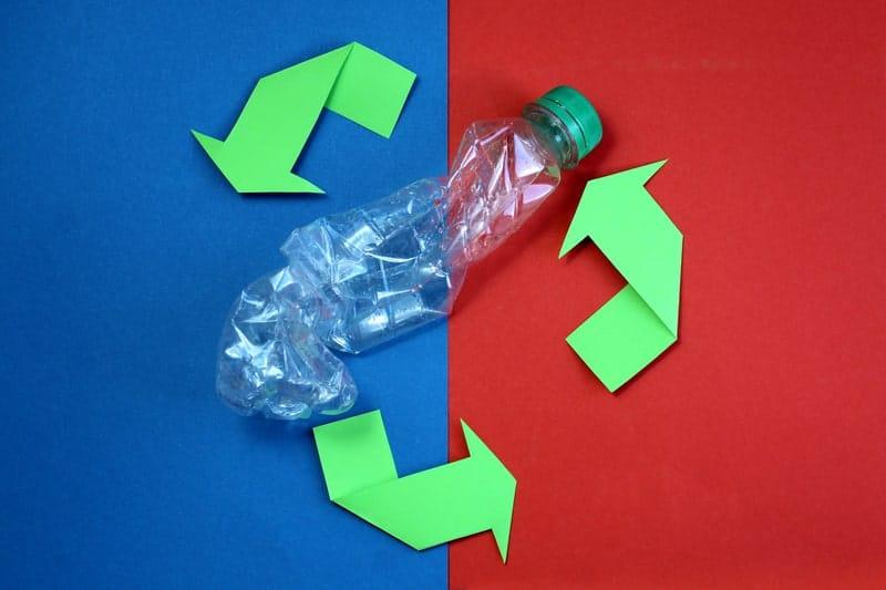 Blockchain per il riciclo della plastica