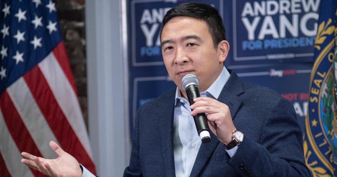Andrew Yang: presidente pro-bitcoin nel 2024?