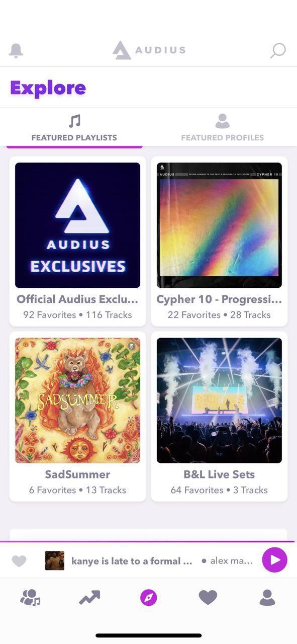 Audius music app