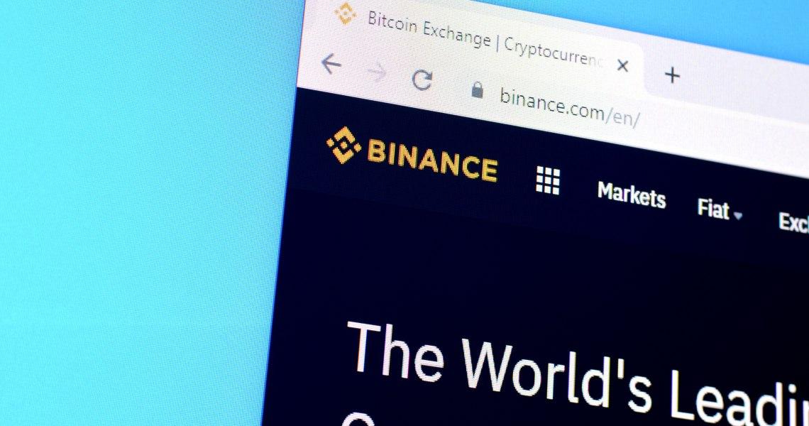 Binance sulla blockchain di EOS?